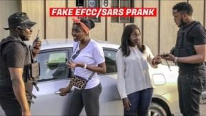 Zfancy Comedy – FAKE EFCC/SARS ARRESTING PEOPLE ! PRANK